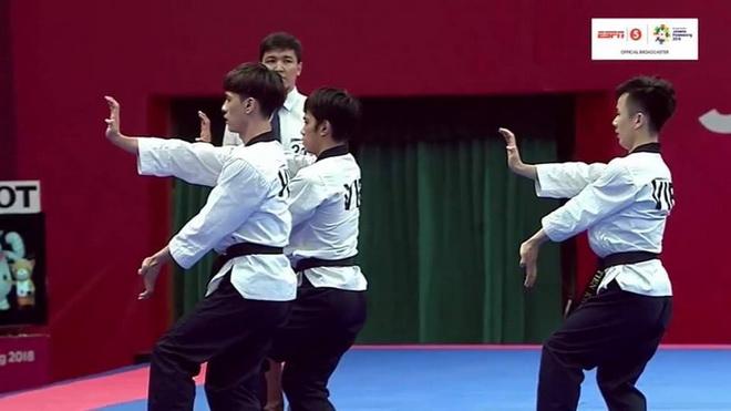 Cập nhật ASIAD ngày 19/8:Taekwondo nhận HCĐ
