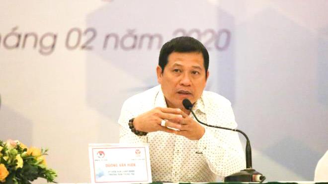 Trưởng ban trọng tài VFF Dương Văn Hiền nhận trách nhiệm