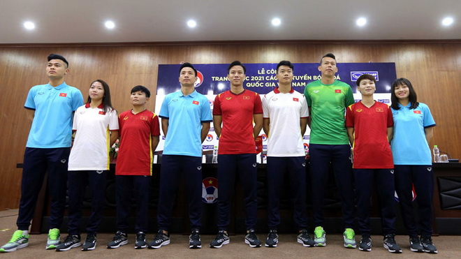 bóng đá Việt Nam, tin tức bóng đá, bong da, tin bong da, tuyển VN, DTVN, Park Hang Seo, ra mắt áo đấu đội tuyển, VFF, Lê Hoài Anh, lịch thi đấu vòng 2 V-League 2021