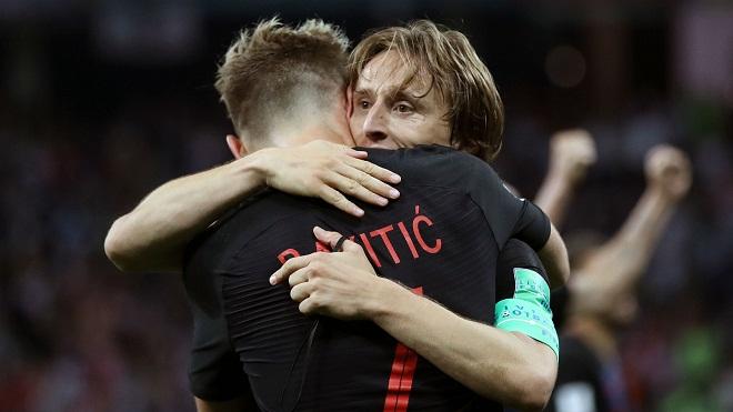 Modric và Rakitic là 'lực lượng' sáng tạo vô hạn của Croatia