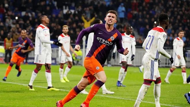 Video clip bàn thắng Lyon 2-2 Man City: Aguero giúp Man City đi tiếp sớm 1 vòng