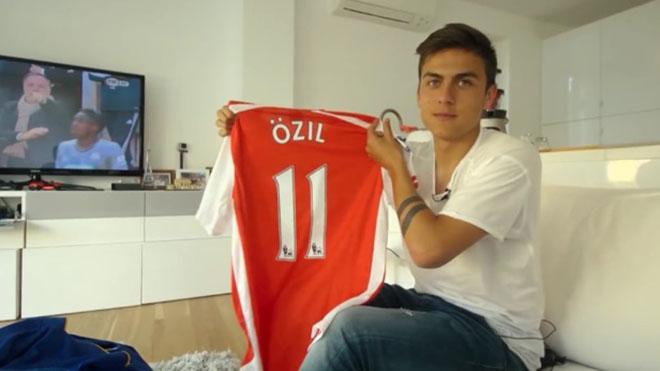 MU, chuyển nhượng MU, Man United, M.U, MU mua Dybala, Dybala tới MU, Dybala, Dybala cầm áo Oezil, Oezil, Arsenal, chuyển nhượng Arsenal, Nicolas Pepe, Juve, chuyển nhượng