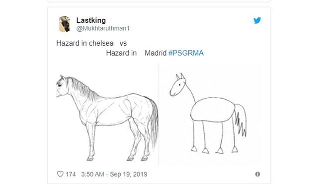 bong da, lich thi dau bong da, truc tiep bong da hôm nay, trực tiếp bóng đá, bong da hom nay, Hazard, Eden Hazard, Real Madrid, PSG 2-0 Real Madrid, Hazard mờ nhạt