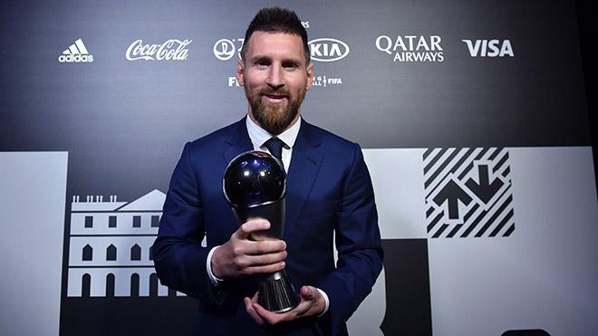 Ket qua The Best 2019, ket qua bau chon The Best 2019, truc tiep bong da, Quả bóng vàng FIFA 2019, Messi, MU, tin tức MU, Ronaldo, Van Dijk, FIFA The Best 2019, bong da