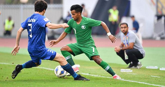 Ket qua bong da, U23 Saudi Arabia vs U23 Uzbekistan, Saudi Arabia vs Uzbekistan, kết quả bán kết U23 châu Á, Saudi Arabia dự Olympic, Uzbekistan thành cựu vô địch, kqbd