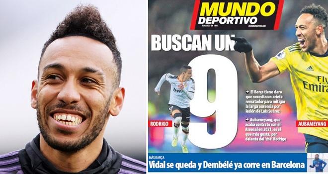 Bong da, bong da hom nay, chuyển nhượng Barcelona, chuyển nhượng Barca, Barca mua Aubameyang, Aubameyang thay thế Luis Suarez, Barcelona, Barca, chuyển nhượng, bóng đá