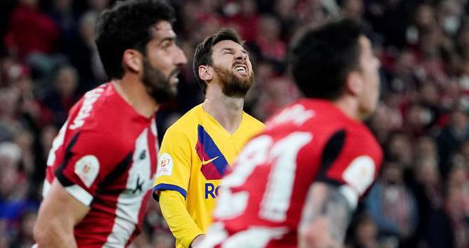 Ket qua bong da, kết quả bóng đá, kết quả Bilbao vs Barca, Bilbao vs Barcelona, video Bilbao 1-0 Barcelona, video Bilbao 1-0 Barca, kết quả Cúp Nhà vua, bong da, bóng đá