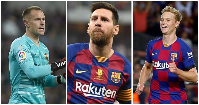 bóng đá, tin bóng đá, bong da hom nay, tin tuc bong da, tin tuc bong da hom nay, Barca, Barcelona, chuyển nhượng Barca, Messi, De Jong, Ter Stegen