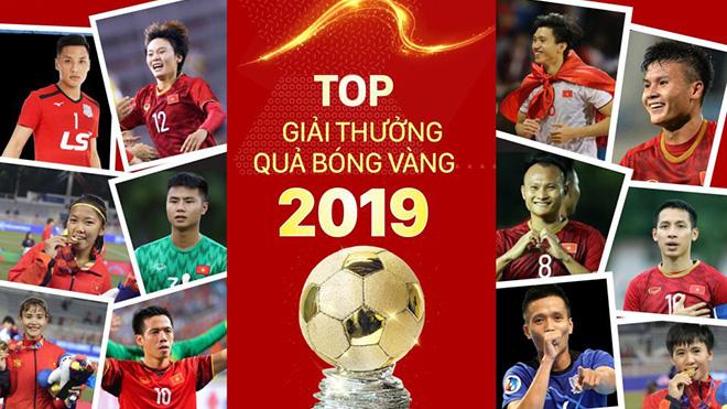 TRỰC TIẾP lễ trao giải Quả bóng Vàng Việt Nam 2019 (VTV6 trực tiếp)