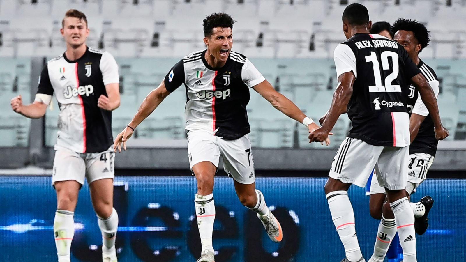 Juventus 2-0 Sampdoria: Ronaldo tỏa sáng, Juve vô địch Serie A lần thứ 9 liên tiếp