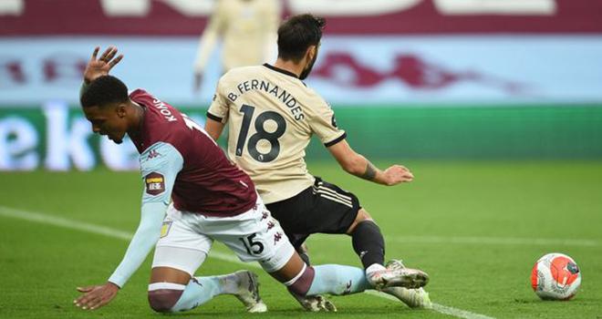 MU, Aston Villa 0-3 MU, Bruno Fernandes ăn vạ kiếm 11m, BXH bóng đá Anh, video clip Aston Villa 0-3 MU, kết quả bóng đá Anh, bảng xếp hạng bóng đá Anh, kết quả MU