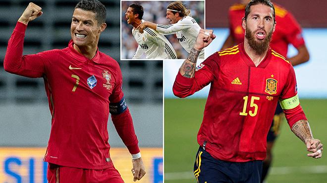 Ronaldo và Ramos lần đầu tiên nói chuyện với nhau sau 2 năm