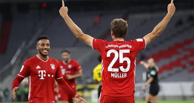 Ket qua bong da, Bayern vs Dortmund, Kết quả Siêu cúp đức, Bayern giành cú ăn 5, kết quả Bayern vs Dortmund, video Bayern 3-2 Dortmund, Siêu cúp Đức, Bayern, Dortmund