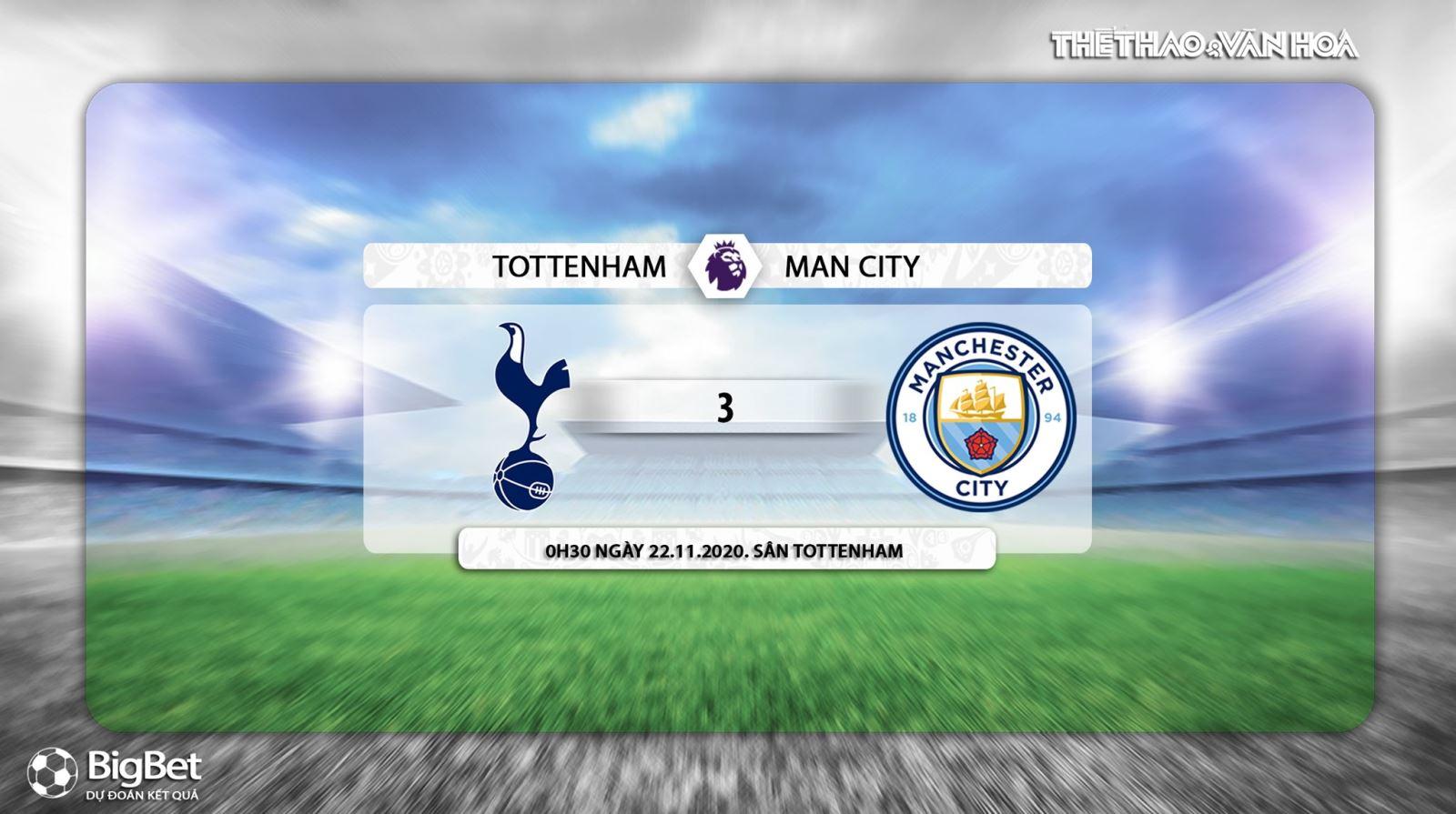 Keo nha cai, Kèo nhà cái, Tottenham vs Man City, Trực tiếp bóng đá, Ngoại hạng Anh, K+, Xem K+PM, Vòng 9 Giải ngoại hạng Anh, Trực tiếp Tottenham đấu với Man City