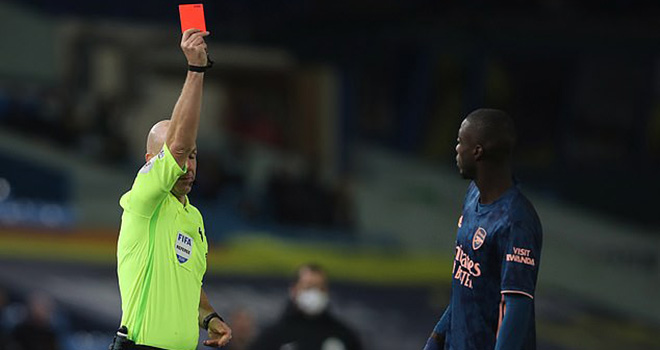 Leeds 0-0 Arsenal. Video Leeds vs Arsenal. Pepe thẻ đỏ. Arteta mắng Pepe