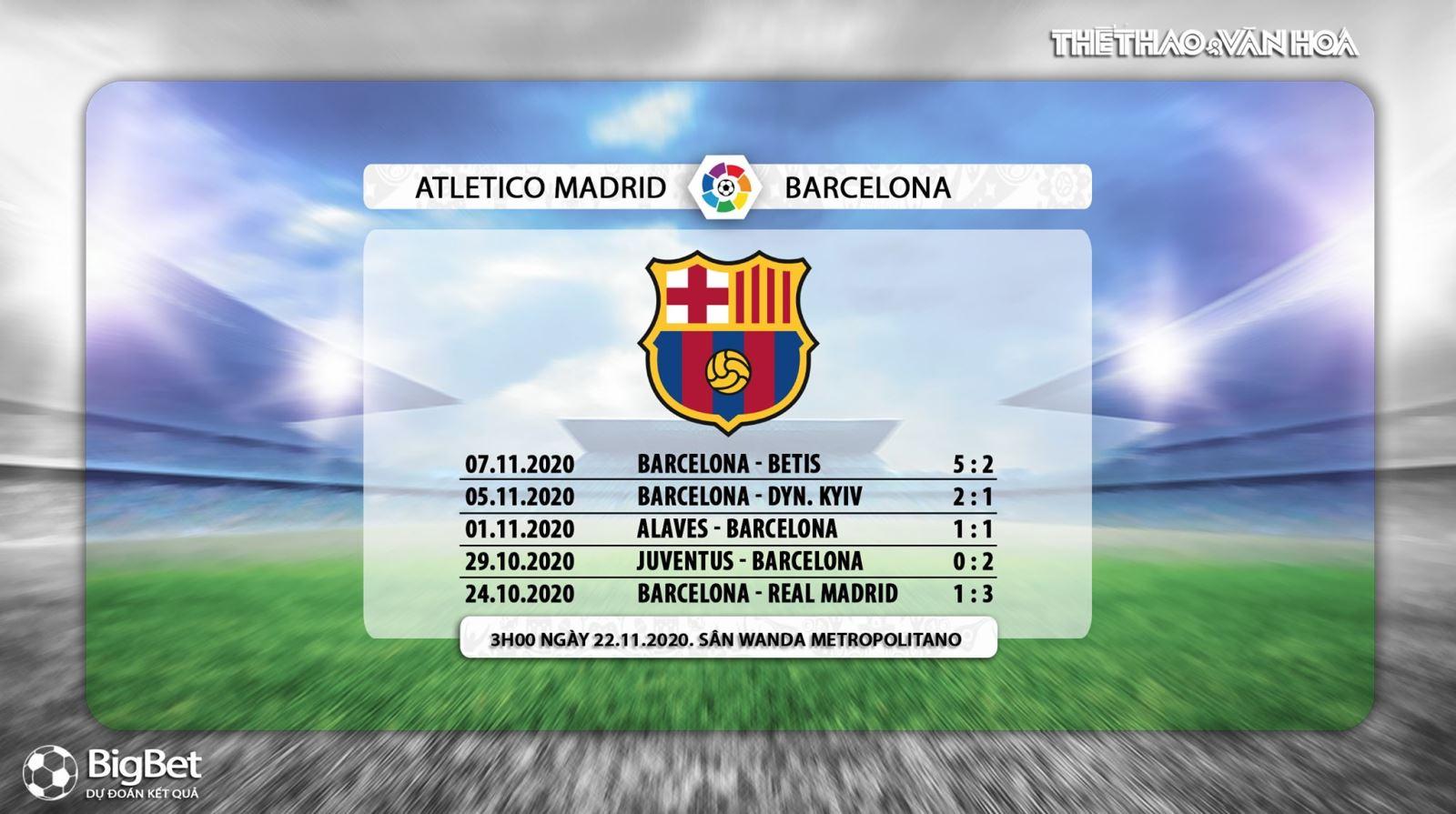 Keo nha cai, Kèo nhà cái, Atletico Madrid vs Barcelona, Vòng 10 La Liga, BĐTV trực tiếp, trực tiếp bóng đá Tây Ban Nha, xem trực tiếp Atletico Madrid vs Barcelona