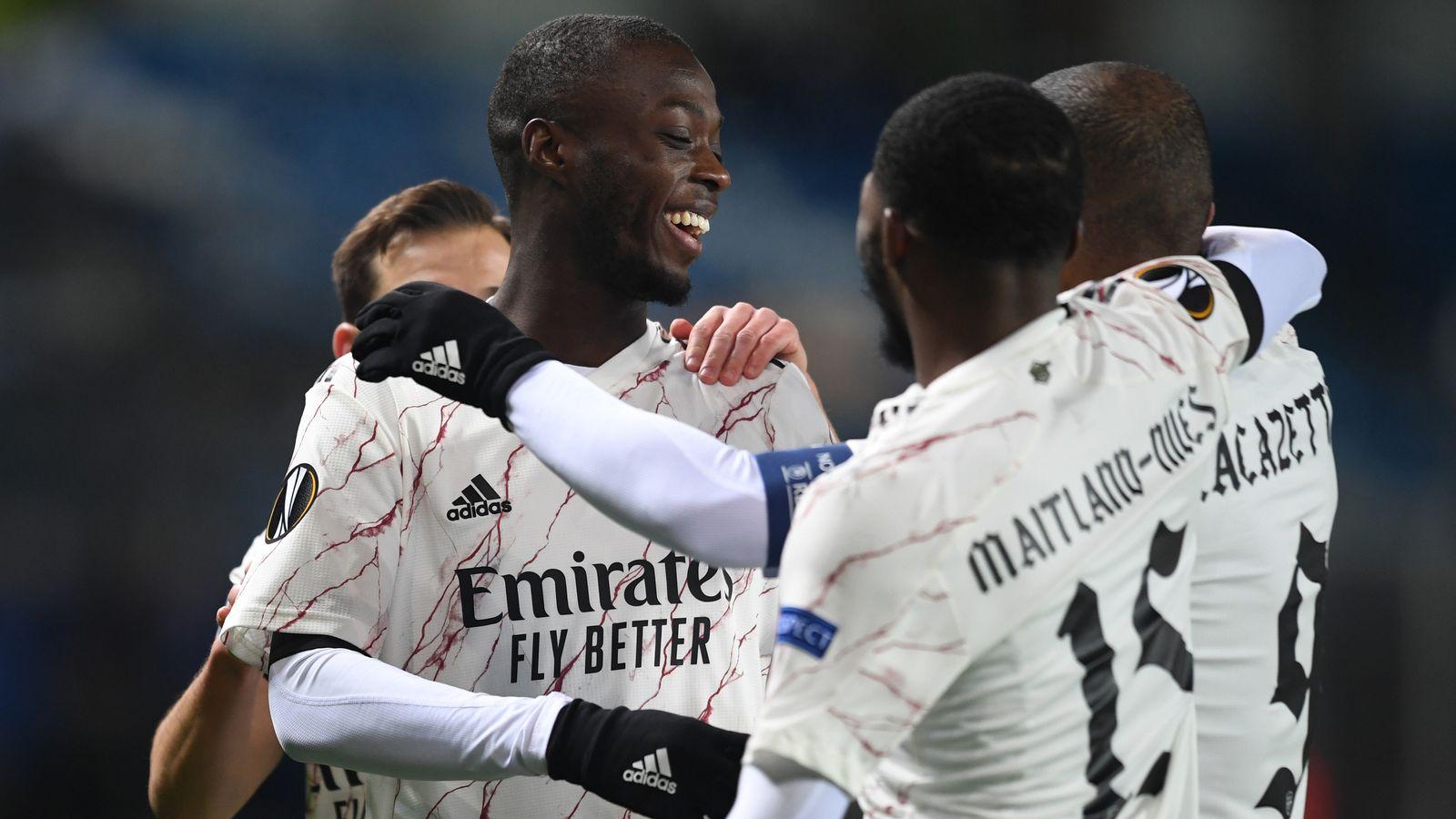 Kết quả cúp C2: Arsenal và Tottenham thắng tưng bừng. Milan bị cầm chân