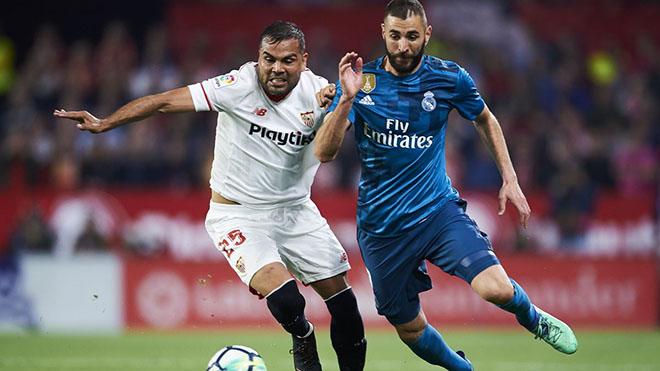 Trực tiếp bóng đá. Sevilla vs Real Madrid. BĐTV trực tiếp Vòng 12 La Liga