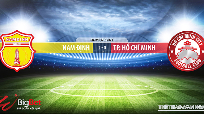 Keo nha cai, Kèo nhà cái, Nam Định vs TPHCM, BĐTV, Trực tiếp bóng đá Việt Nam, kèo bóng đá, trực tiếp Nam Định vs TPHCM, lịch thi đấu V-League, bxh V-League, kèo Nam Định