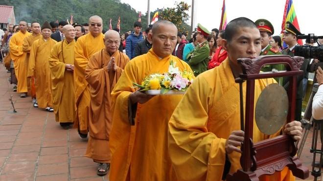 Lễ khai hội Xuân Ngọa Vân tri ân công đức Đức Phật hoàng Trần Nhân Tông