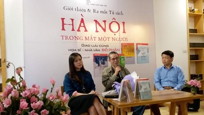 Ra mắt tủ sách về Hà Nội: Từ Hà Nội trong mắt Đỗ Phấn…
