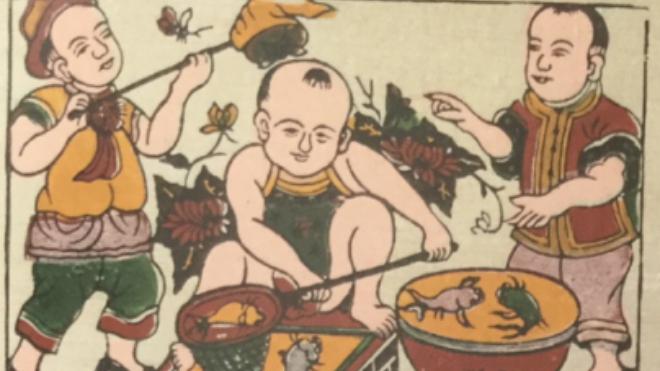 Sống chậm cuối tuần: Tranh Đông Hồ - ngàn năm không cũ