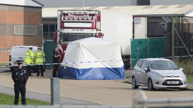 Vụ phát hiện 39 thi thể ở Anh: Không nêu danh tính nạn nhân
