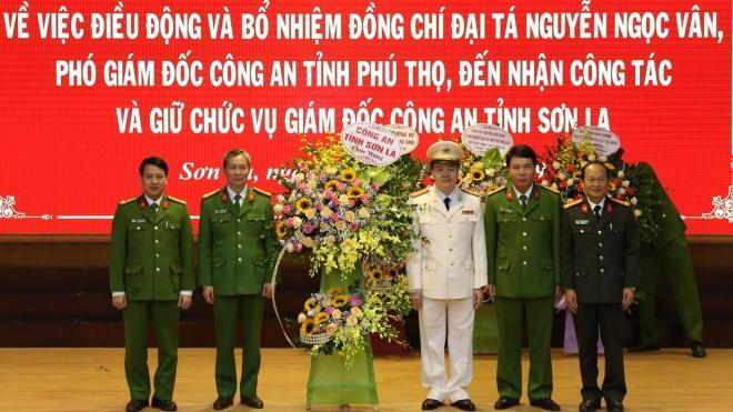 Công bố quyết định điều động và bổ nhiệm Giám đốc Công an tỉnh Sơn La