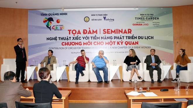 Quảng Ninh đưa xiếc trở thành sản phẩm du lịch