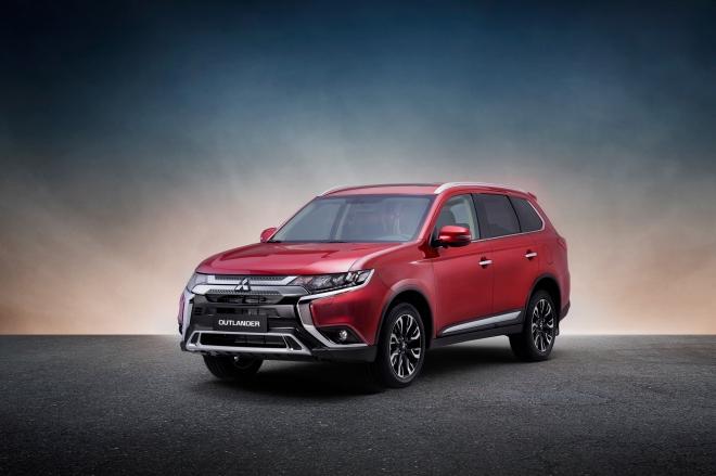 Mitsubishi Outlander thế hệ mới 2020 tăng giá nhẹ
