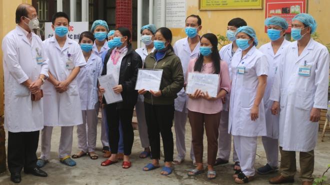 3 bệnh nhân mắc COVID-19 là nhân viên công ty Trường Sinh được công bố khỏi bệnh