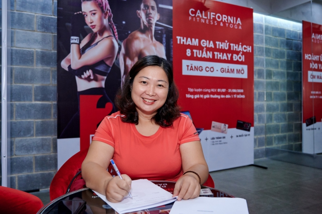 California Fitness mang cơ hội thay đổi hình thể đến với người thừa cân