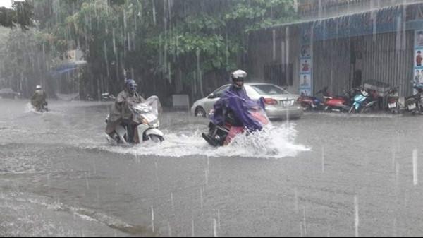 Từ ngày 5-7/8, mưa lớn diện rộng ở Bắc Bộ, Tây Nguyên và Nam Bộ