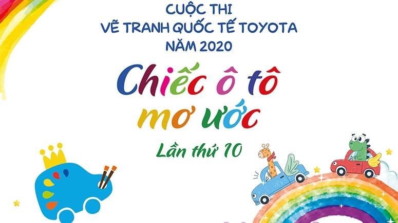 Toyota phát động cuộc thi vẽ 'Chiếc ô tô mơ ước lần 10'