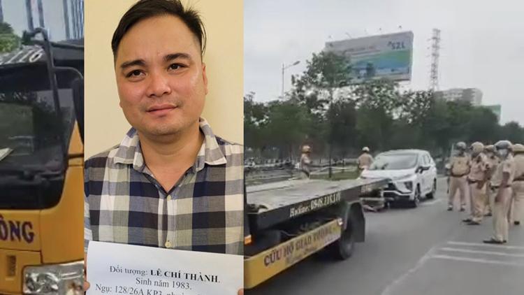 Khởi tố, bắt tạm giam Lê Chí Thành điều tra hành vi chống người thi hành công vụ