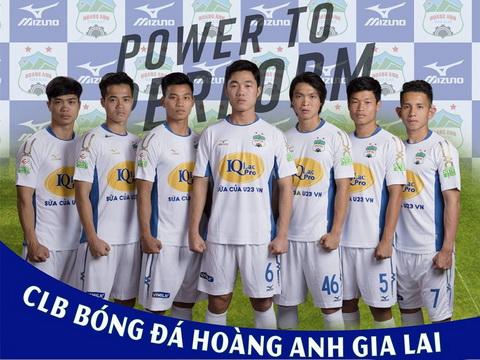 Vòng 1 V-League được truyền trực tiếp, cầu thủ HAGL bảnh bao trong trang phục mới