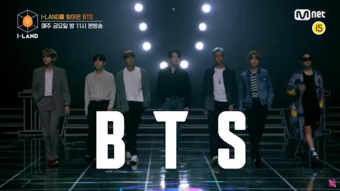 BTS, I-LAND, BTS chính thức tiến vào I-LAND, BTS huấn luyện viên I-LAND, BTS đánh tan mọi tin đồn về việc xuất hiện qua loa, Tập 7 I-LAND, Jin, RM, J-Hope, Suga, Jimin, V