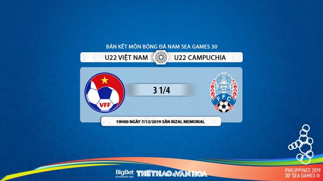 VTV6, truc tiep bong da hôm nay, truc tiep bong da, U22 Việt Nam vs U22 Campuchia, xem VTV6, Việt Nam vs Campuchia, trực tiếp bóng đá, lịch thi đấu Seagame 30, VTV5