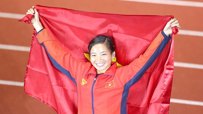Nguyễn Thị Oanh giành vị trí số 1