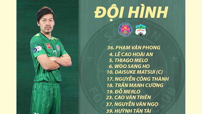 bóng đá Việt Nam, tin tức bóng đá, V-League, lịch thi đấu vòng 3 V-League, BXH V-League, Sài Gòn vs SLNA, HLV Vũ Tiến Thành, kết quả bóng đá