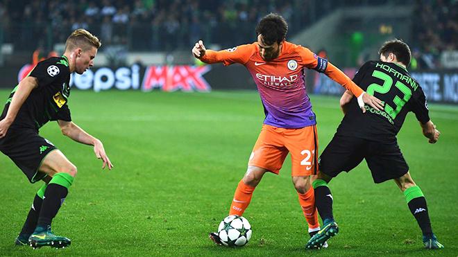 K+, K+PM trực tiếp bóng đá Man City, Monchengladbach vs Man City, Xem cúp C1, trực tiếp Man City đấu với Monchengladbach, xem trực tuyến vòng 1/8 Champpions League