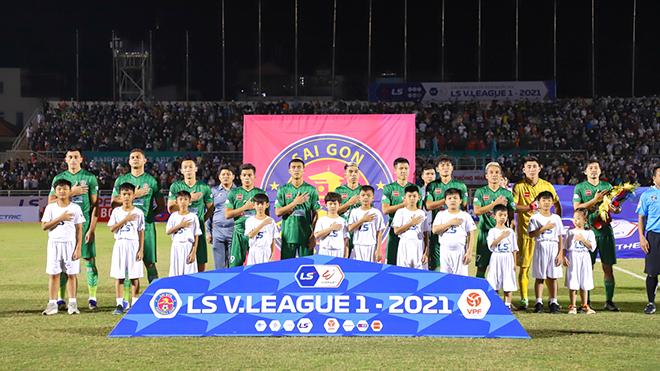 bóng đá Việt Nam, tin tức bóng đá, bong da, tin bong da, Sài Gòn FC, J League, Cao Văn Triền, Danh Trung, Vũ Tiến Thành, lịch thi đấu bóng đá hôm nay