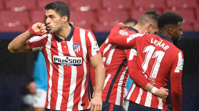 Atletico Madrid, Luis Suarez, Bóng đá Tây Ban Nha, Atletico vs Elche, BXH La Liga, Kết quả Atletico Elche, Kết quả La Liga, Luis Suarez lập cú đúp, Bảng xếp hạng La Liga
