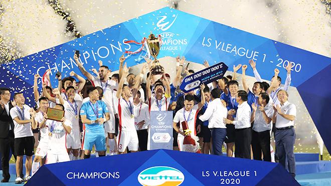 bóng đá Việt Nam, tin tức bóng đá, bong da, tin bong da, đội hình tiêu biểu V League 2020, cầu thủ xuất sắc nhất V League 2020, tổng kết V League