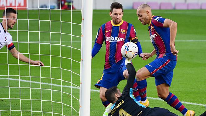 Barcelona 4-0 Osasuna. Video clip bàn thắng trậnBarcelona vs Osasuna. Barca