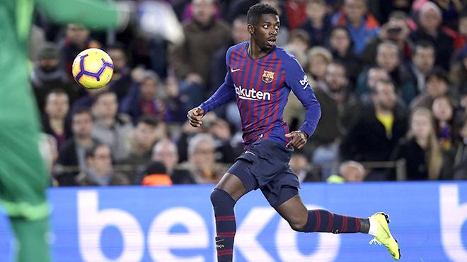 Chuyển nhượng Barca: Đã đến lúc loại bỏ Dembele?