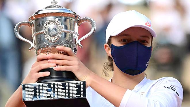 Kết quả chung kết Roland Garros. Iga Swiatek, Iga Swiatek vô địch Pháp mở rộng. Nadal vô địch. Nadal 3-0 Djokovic. Kết quả chung kết Pháp mở rộng. Kết quả tennis.