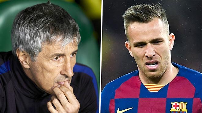 Barcelona, Barca, Arthur, Arthur từ chối ra sân, Liga, bóng đá Tây Ban Nha, bóng đá, tin bóng đá, bong da hom nay, tin tuc bong da, tin tuc bong da hom nay