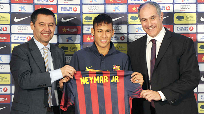 Bong da, Tin tuc bong da, Barcelona thoát khỏi kiện tụng liên quan tới Neymar, chuyển nhượng, chuyển nhượng Barcelona, Neymar, chuyển nhượng bóng đá, Santos, kiện cáo