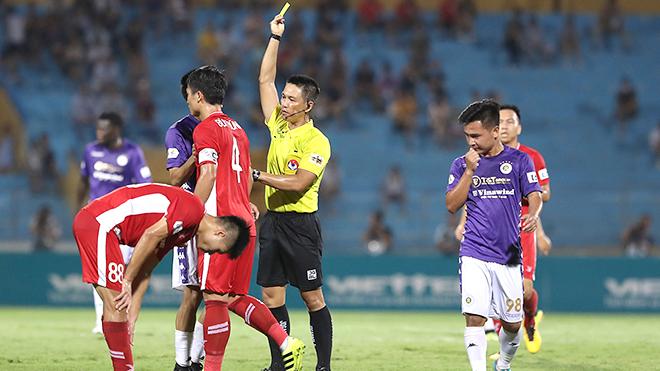 bóng đá Việt Nam, tin tức bóng đá, V League, lịch thi đấu vòng 9 V League, BXH V League, trọng tài, Ban trọng tài VFF, Ban kỷ luật, SLNA, Hà Nội FC, HAGL